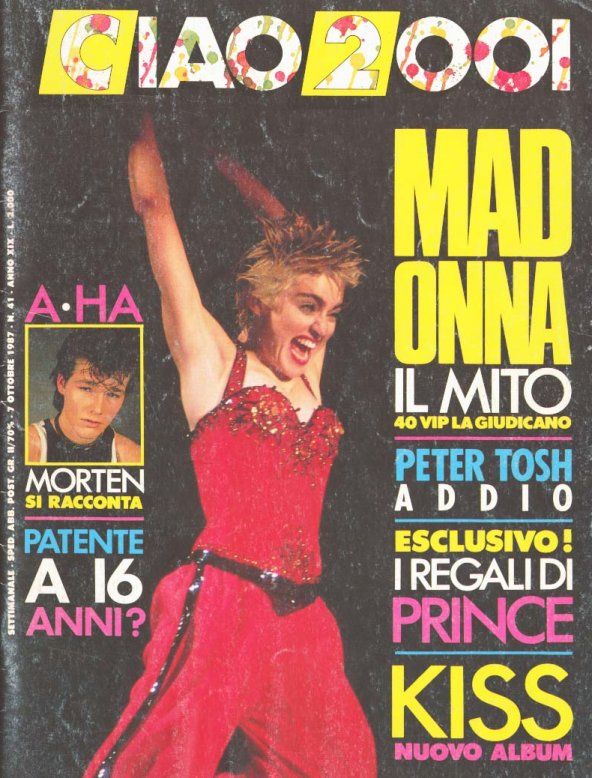 Ciao 2001 - 07 October 1987