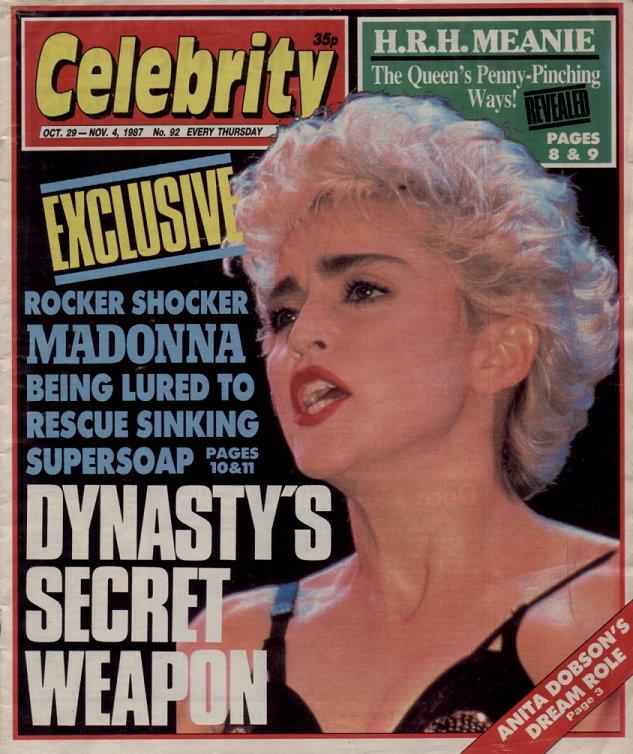 Celebrity - 29 October 1987