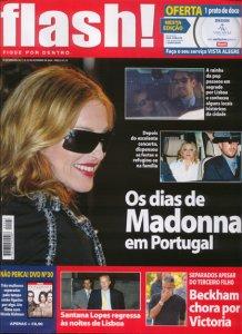 Curiosidades da passagem de Madonna por Lisboa