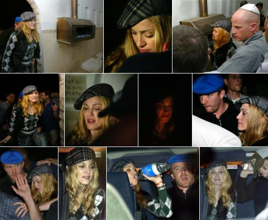 Israel: Madonna, Madonna e Madonna!