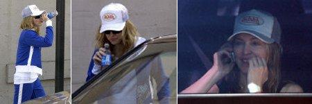 O que Madonna anda aprontando em LA?