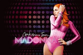 madonna confessions tour poster - photo #26