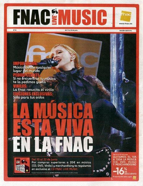 madonnalicious - tour spoiler free edition: Spanish Magazines FNAC