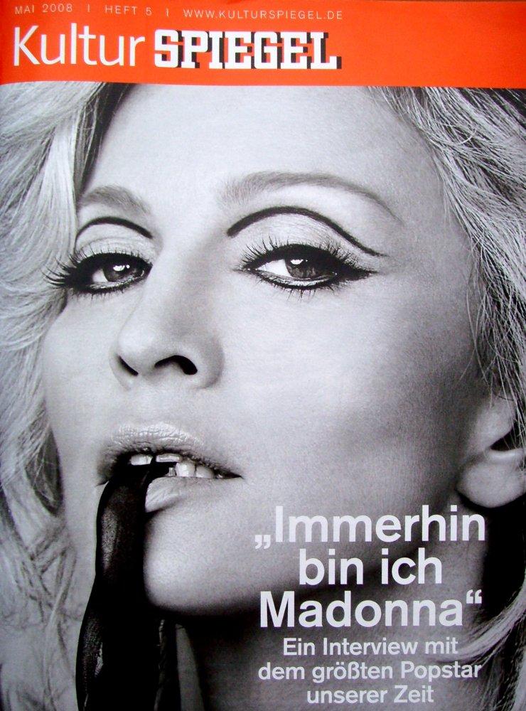 Madonnalicious german magazines kultur spiegel for Spiegel magazi
