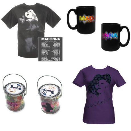 madonnalicious - tour spoiler free edition: Merchandise