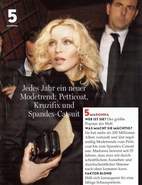 MADONNA Vanity Fair Magazine May 2008 5//08 B-3-2