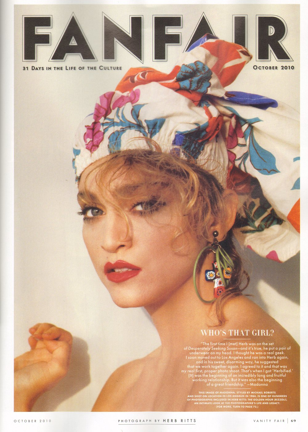 Displaying 18 gt images for madonna vanity fair 1990