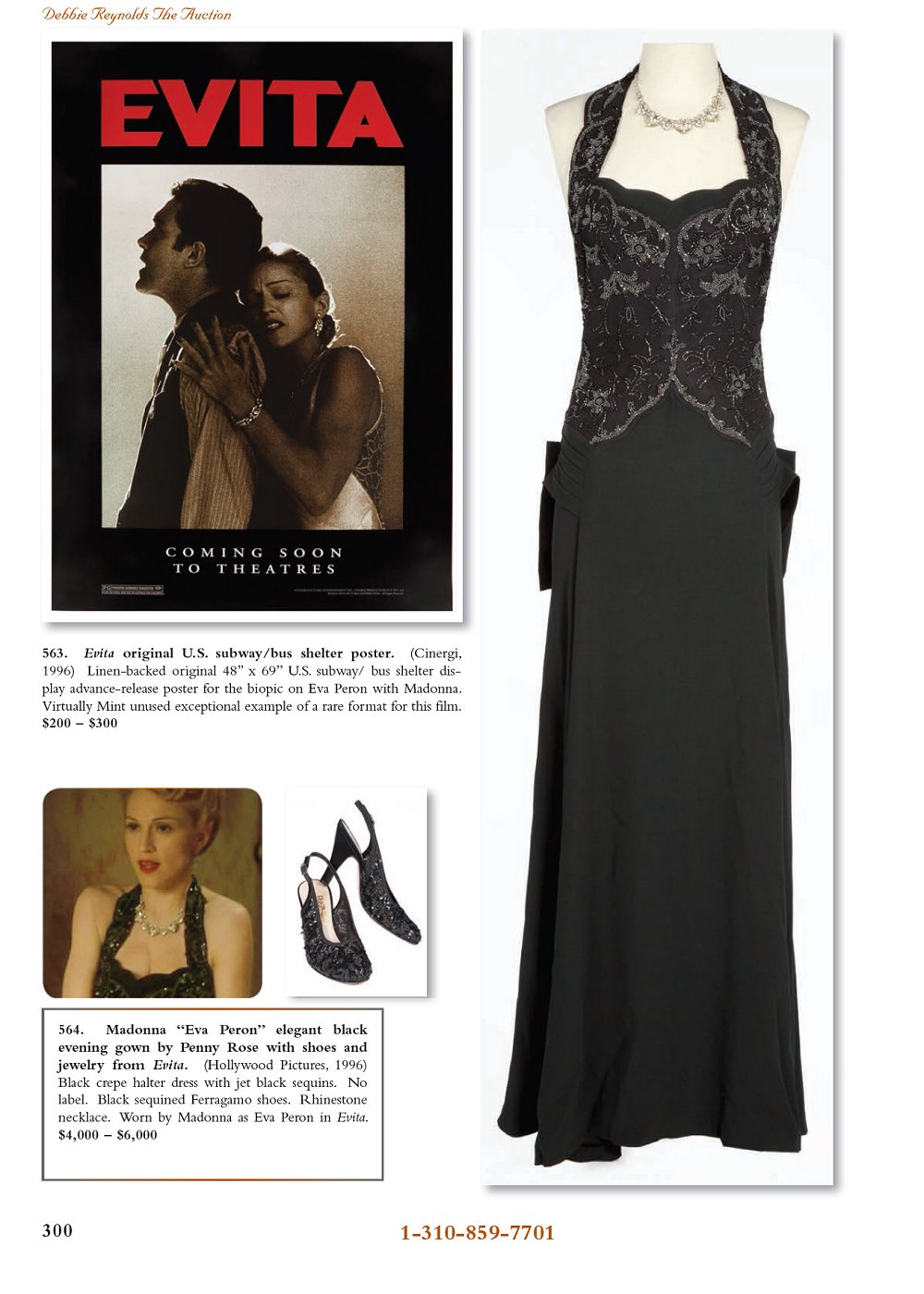 Madonna Evita costume up for auction  sc 1 st  Madonnalicious & madonnalicious: Madonna Evita costume up for auction