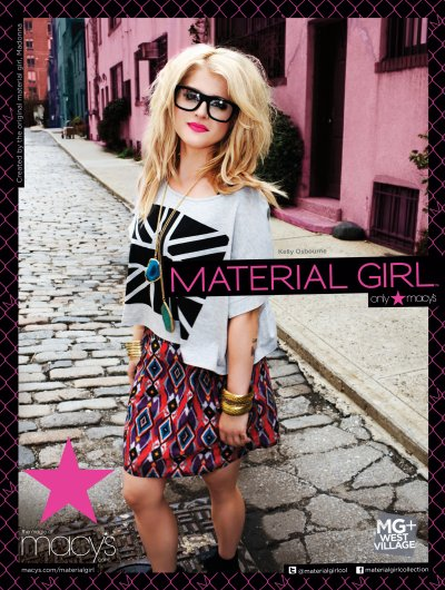 e87823dde42d Fall 2011 Material Girl: Campaign Pictures