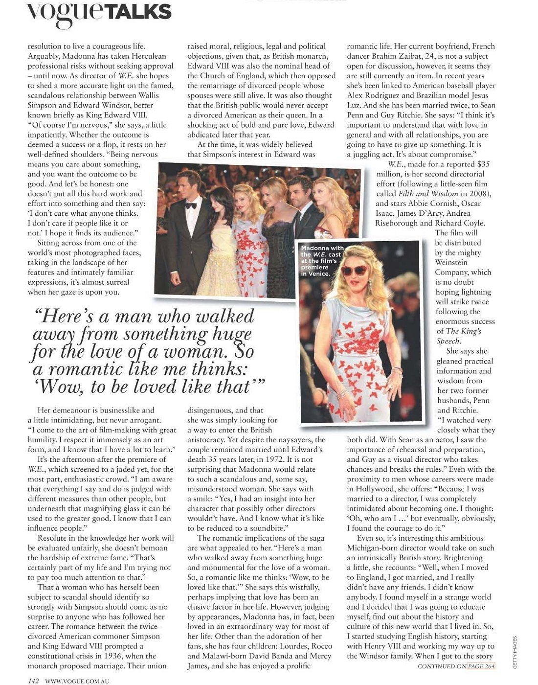 madonnalicious: Australian Magazines Vogue