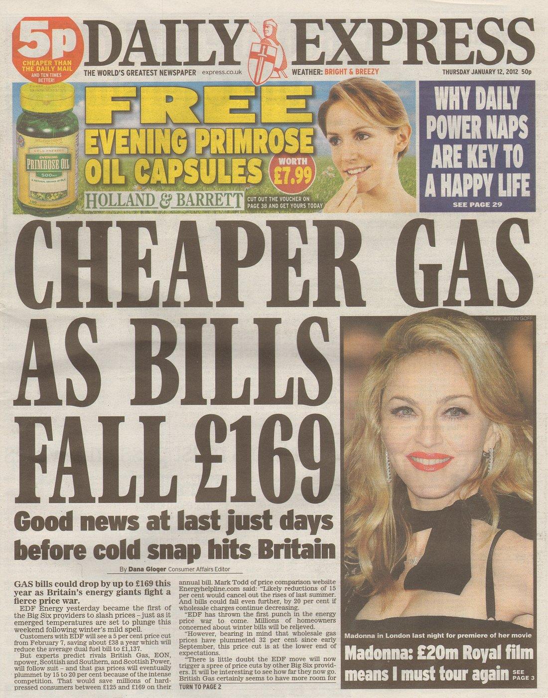 Daily news uk