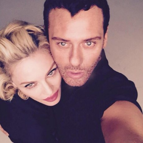 Photo of Mert Alas & his friend  Madonna